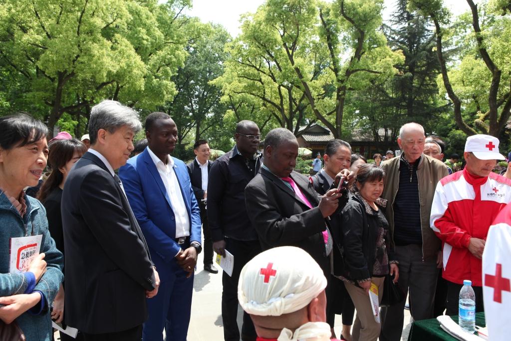 开展红十字国际交流  加强人道领域合作