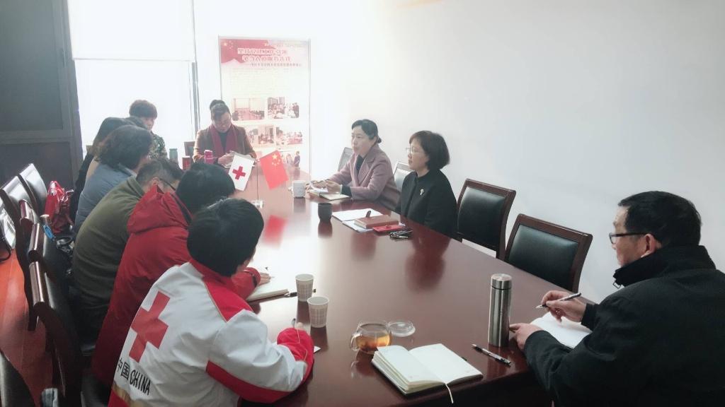 市红十字会召开志愿者座谈会